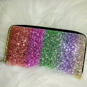 Handbags - Glitter Wallet/Clutch